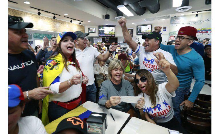 Miami: Levantamiento en Venezuela da esperanzas a exiliados