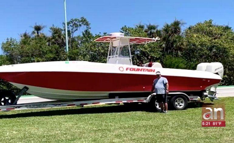 Le roban una embarcación valorada en 90 mil dólares a familia cubana de Hialeah