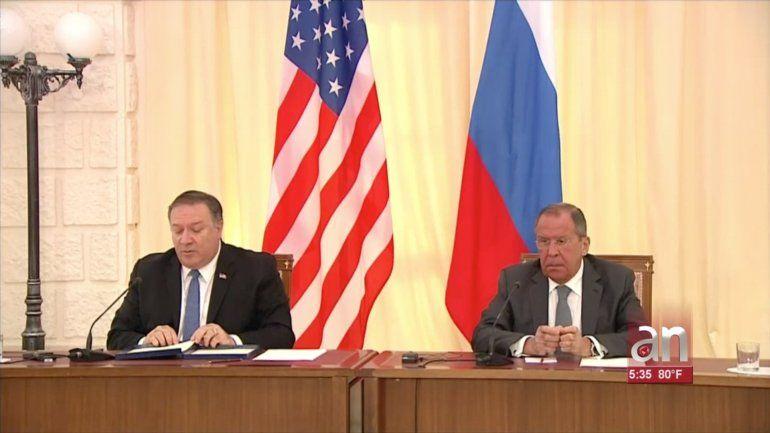Mike Pompeo en Moscú: Ha llegado la hora de que Nicolás Maduro se vaya y esperamos que termine el apoyo de Rusia