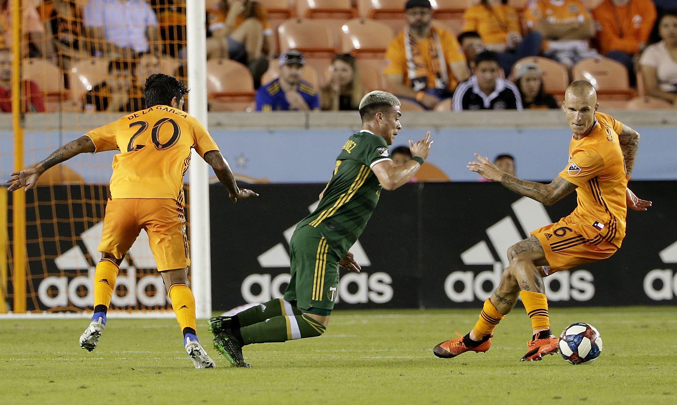 Fernández debuta con gol en MLS; Timbers empatan con Dynamo