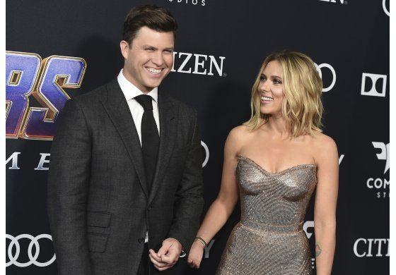 Primicia AP: Scarlett Johansson y Colin Jost se casarán