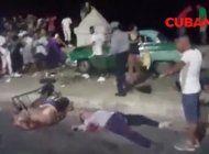 almendron se estrella contra personas en el malecon dejando cuatro muertos y decenas de heridos