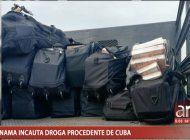 regimen mantiene silencio ante droga incautada en panama en barco procedente de cuba