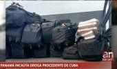 Régimen mantiene silencio ante droga incautada en Panamá en barco procedente de Cuba