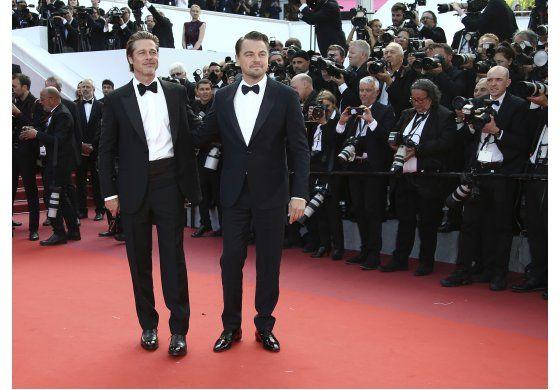 Con Brad y Leo, Tarantino estrena cuento de hadas en Cannes