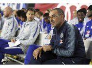 sarri analizara futuro con chelsea tras final de liga europa