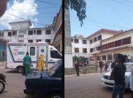 seis ninos heridos por derrumbe en escuela primaria del barrio de buena vista, playa