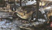 Incendio en Mansión de Fort Laudardale destroza un Bentley, un Porsche 911 Special, un Tesla y un Nissan GTR