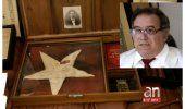 Habla propietario de la bandera cubana que se izó el 20 de mayo de 1902