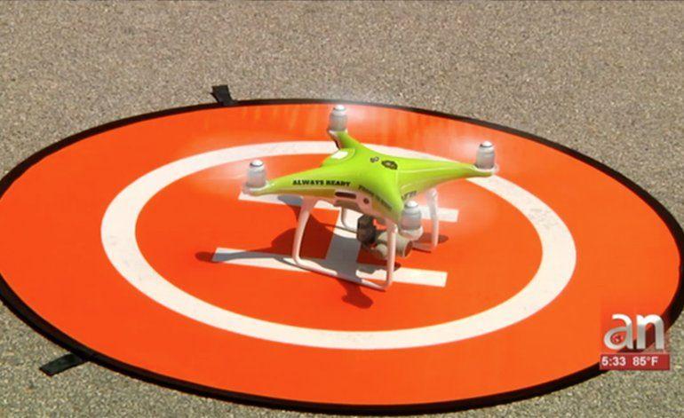 El Departamento de Bomberos de Miami-Dade implementará Drones en esta temporada ciclónica
