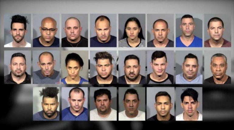 Más de una decena de cubanos han sido arrestados en Las Vegas  y acusados de comprar gasolina con tarjetas de crédito robadas y venderla ilegalmente