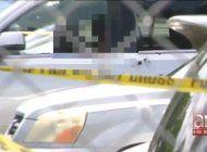 captado en camara el brutal asesinato de hombre en las afueras de las oficinas de probatoria  de miami gardens