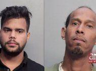 un cubano y un colombiano tras las rejas por venderle 66 mil dolares en cocaina a policia de hialeah