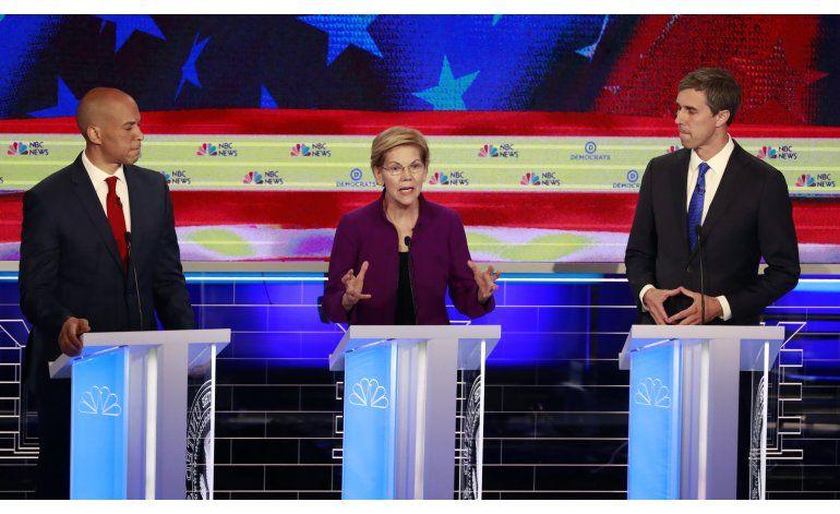 Cuba y Venezuela ausentes en el primer debate en Miami de los precandidatos demócratas
