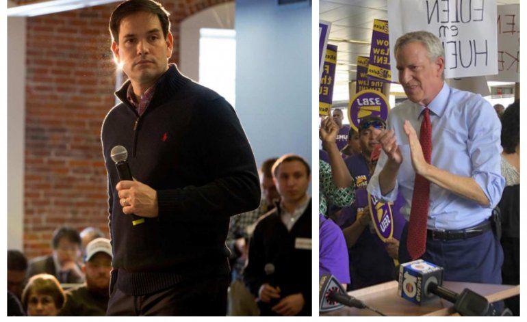 Marco Rubio no acepta disculpas a De Blasio por citar al Che en Miami