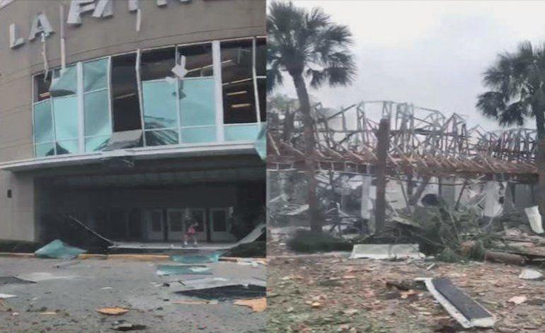 Varios heridos tras una fuerte explosión en un centro comercial de Plantation