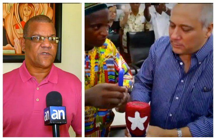 El santero mayor y ObaOriatecubanoCarlos Valdes da detalles sobre el resguardo que le hicieron a Díaz-Canel