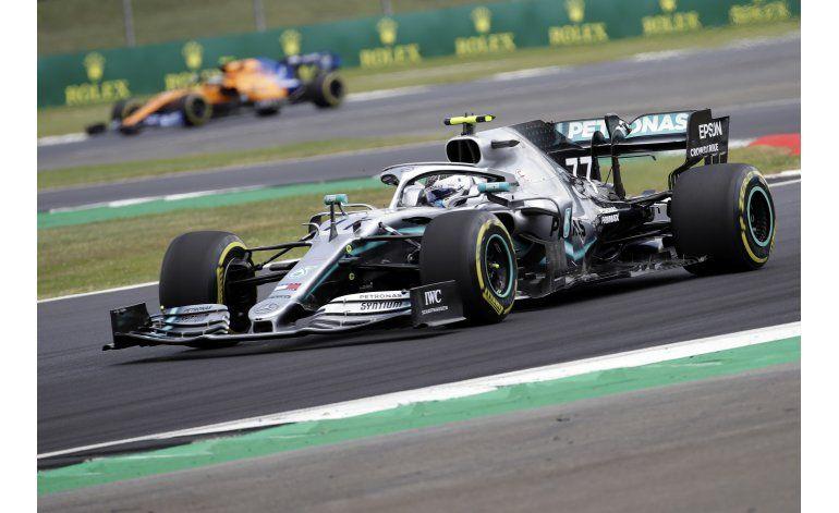 Bottas gana segunda sesión de prácticas para GP británico