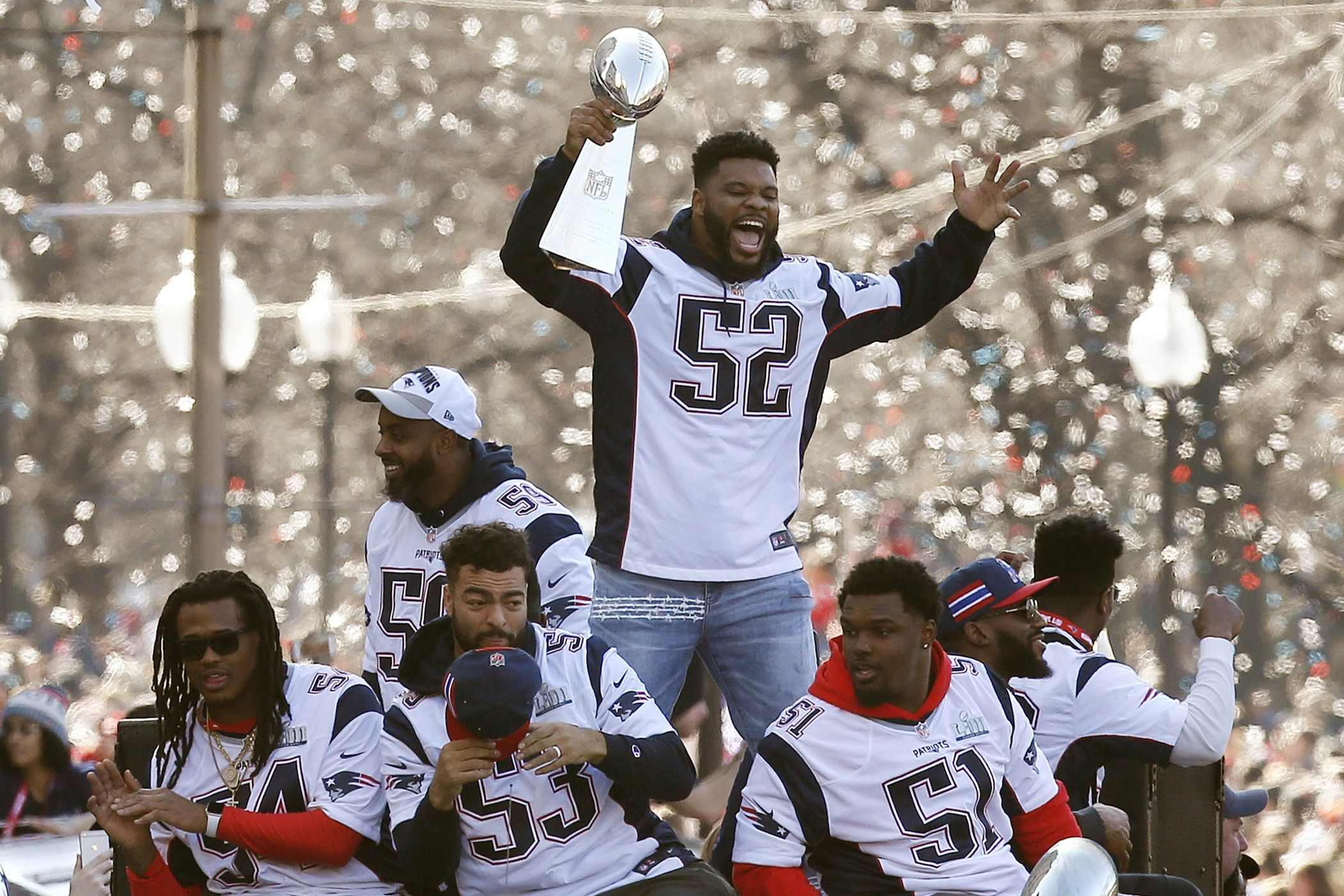 Policía de Texas ofrece disculpas a jugador de Patriots