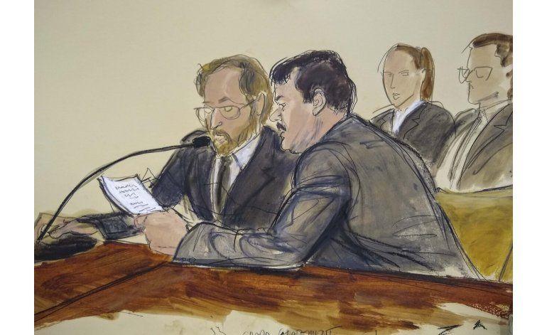 """Condenan a """"El Chapo"""" a cadena perpetua"""