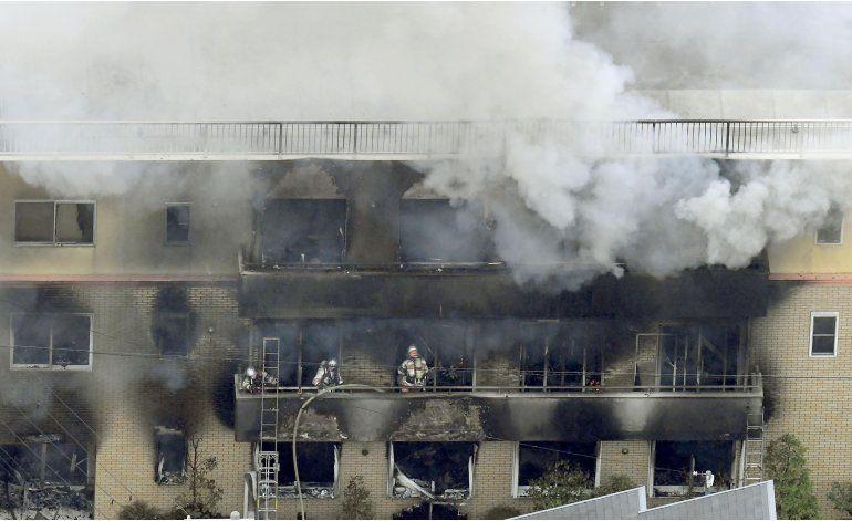 Japón: Incendio provocado en estudio anime deja 33 muertos