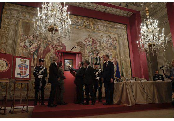 Pintura robada por soldado nazi regresa a museo de Florencia