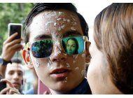 venezuela: manifestante que quedo ciego aun quiere estudiar