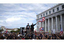 gobernador de puerto rico guarda silencio ante protestas