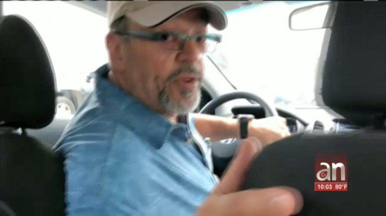 Le ponen una pistola en la espalda a un chofer de UBER de  Miami para robarle