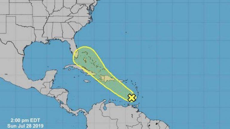 Se acerca a Miami  una onda tropical en el Caribe con altas probabilidades de desarrollo