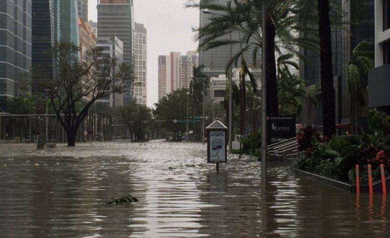 Bombas de agua instaladas en la zona de Brickell evitara inundaciones