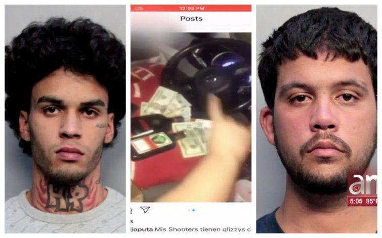 Dos jóvenes de Hialeah arrestados luego de publicar en Instagram videos desde un Porshe robado por ellos