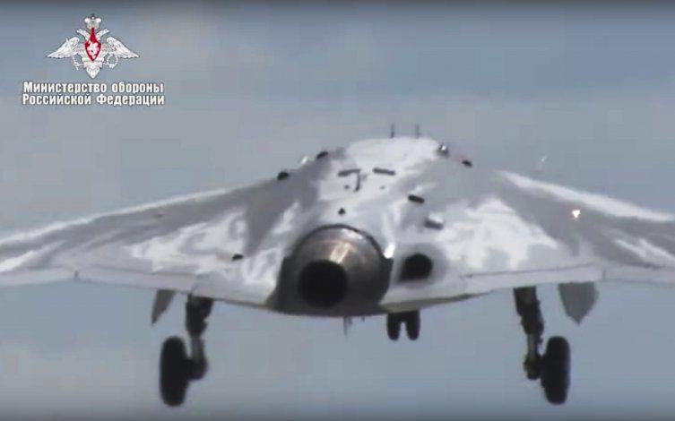 Dron militar ruso realiza vuelo inaugural con éxito