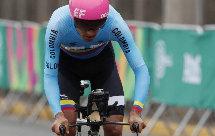 Colombiano Martínez gana oro panamericano en contrarreloj
