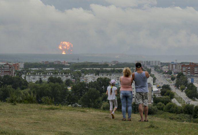Explosión de un cohete deja 2 muertos, 4 heridos en Rusia