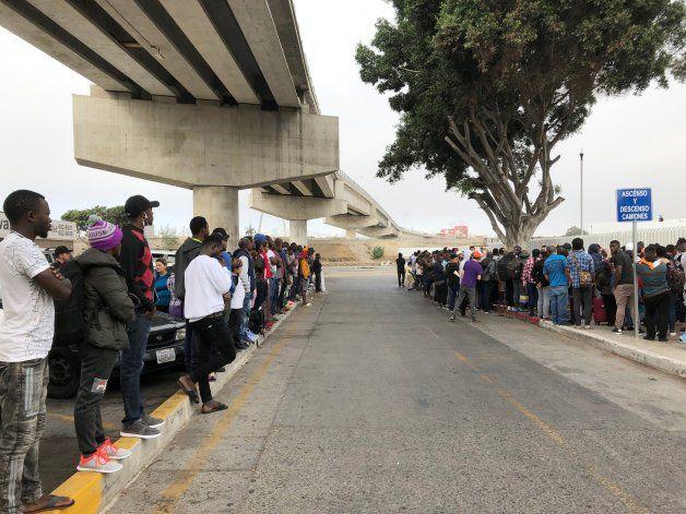 40.000 migrantes esperan en México para pedir asilo en EEUU