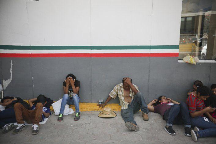 EEUU: Baja cifra de migrantes que cruzan frontera sur