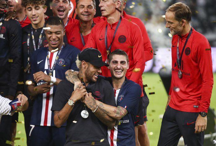 Hincha demanda a Neymar por incidente en Copa de Francia