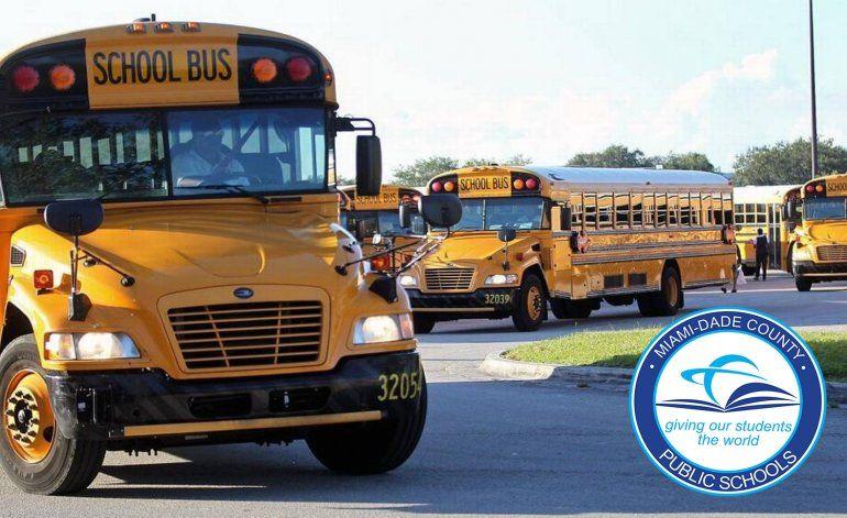 Los autobuses escolares del condado Miami-Dade serán más seguros y con más tecnología