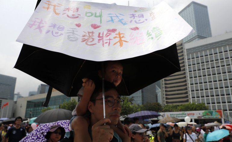 Hong Kong: protesta avanza pese a objeciones policiales