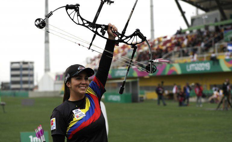 Sara López conquista oro panamericano en tiro con arco