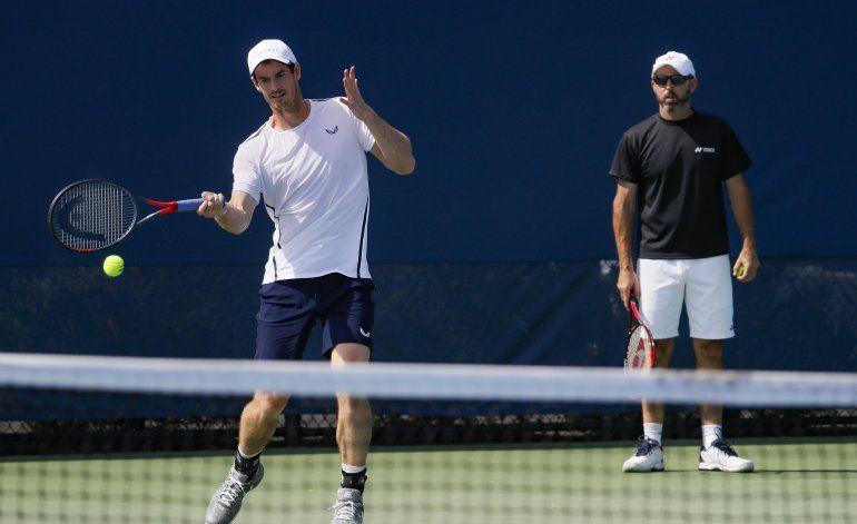 Andy Murray vuelve a jugar individuales con la cadera sana
