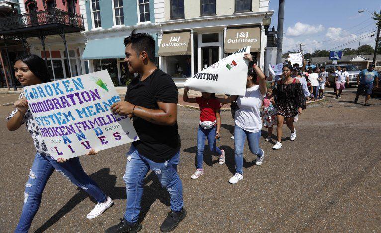 Mississippi: Jóvenes protestan contra redadas migratorias