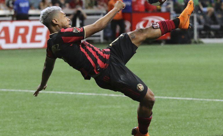 MLS: Martínez anota doblete y United de Atlanta gana a NYCFC