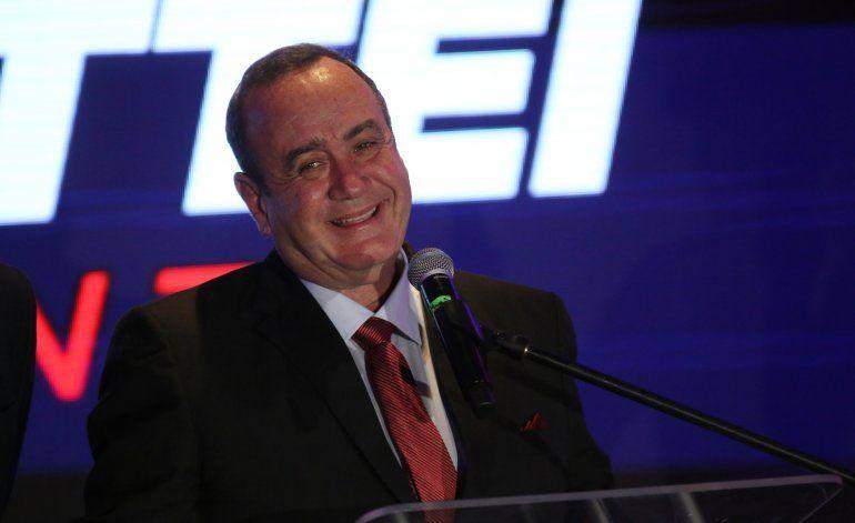 Tribunal da ventaja a Giammattei en presidenciales Guatemala