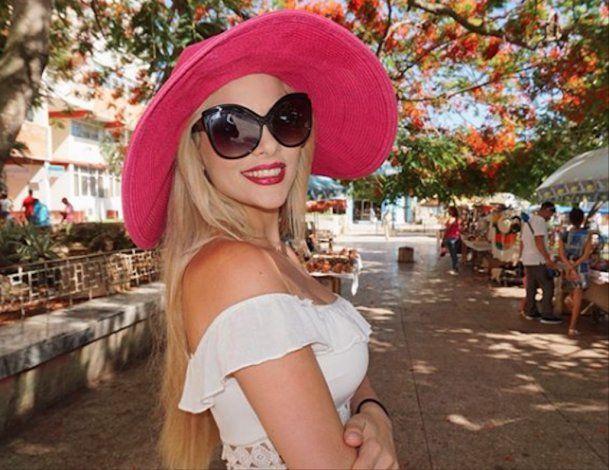 La modelo y cantante cubana, Haniset Rodríguez regresa a Ciego de Ávila su tierra natal