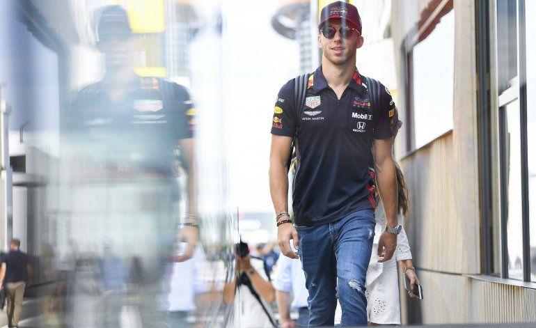 F1: Red Bull degrada a Gasly a Toro Rosso; asciende a Albon