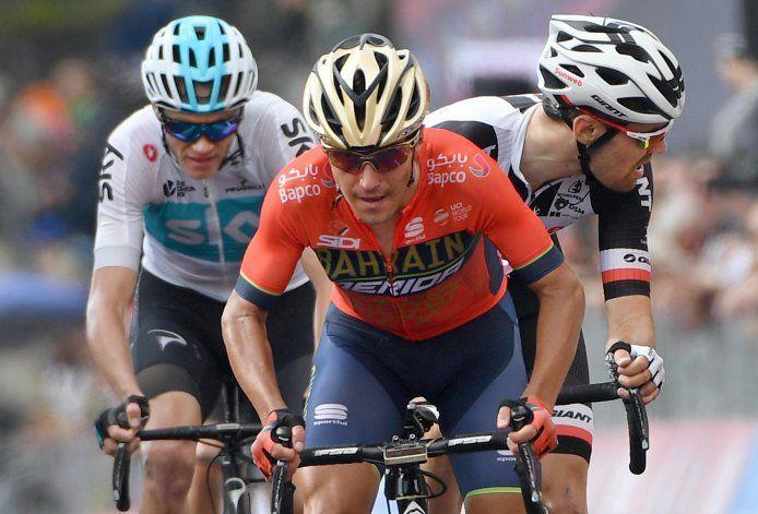 Pozzovivo sufre fracturas en choque; se perderá la Vuelta