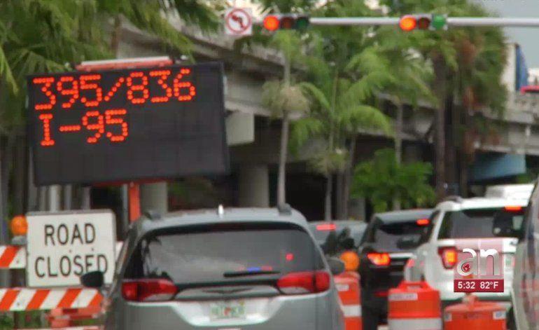 Desde hoy cierra indefinidamente importante calle del Downtown de Miami