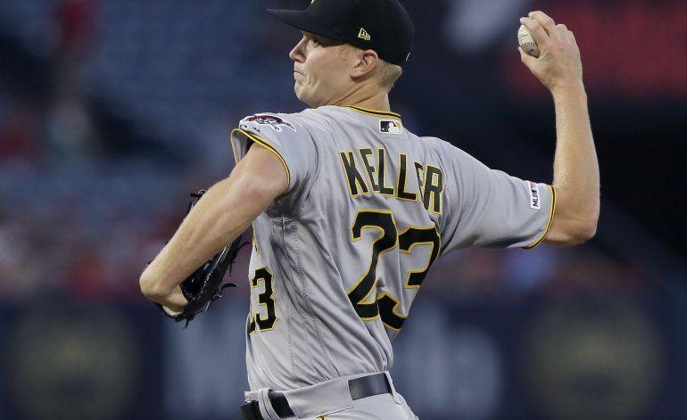 Keller gana, Piratas rompen mala racha al vencer a Angelinos